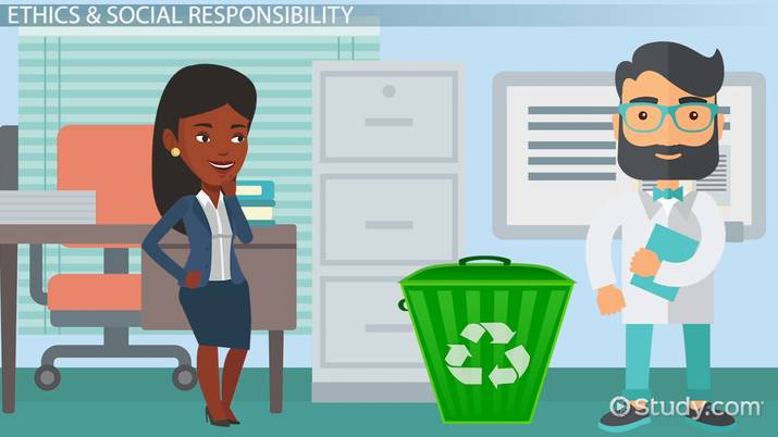 difference between ethics  u0026 social responsibility