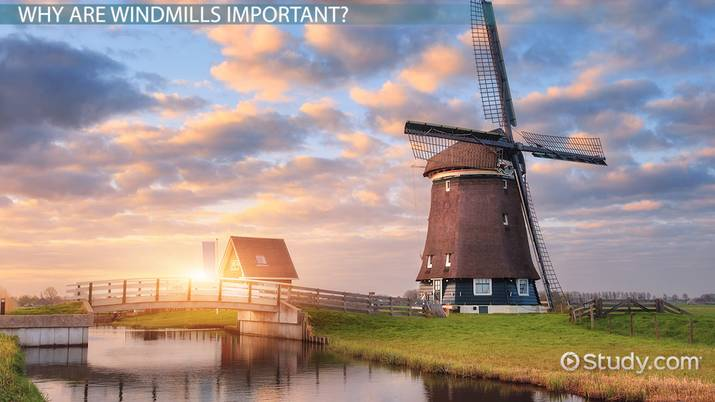 how do windmills work  - lesson for kids