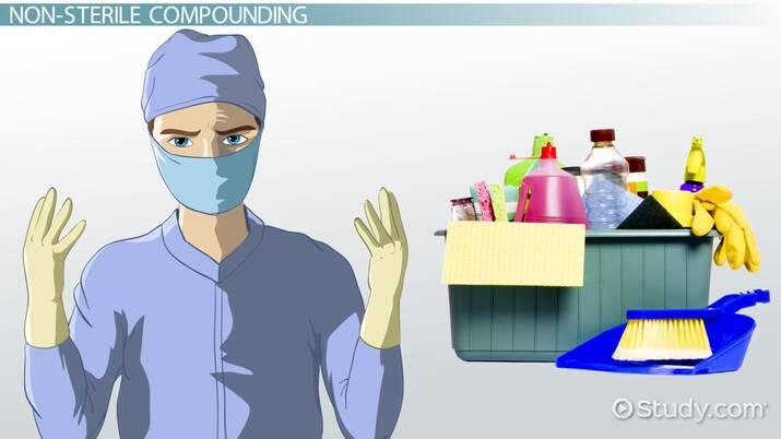 Sterile vs. Non-Sterile Compounding Processes in Pharmacy on