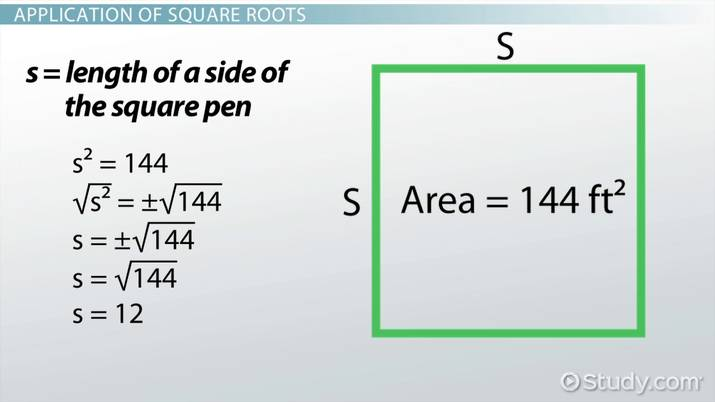 Product of Square Roots Rule: Definition & Example - Video