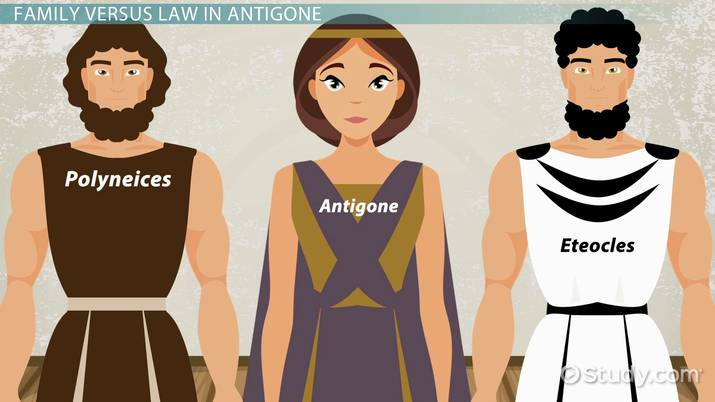 Compare and Contrast Antigone & Ismene