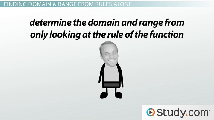 What Is Domain and Range in a Function? - Video & Lesson Transcript