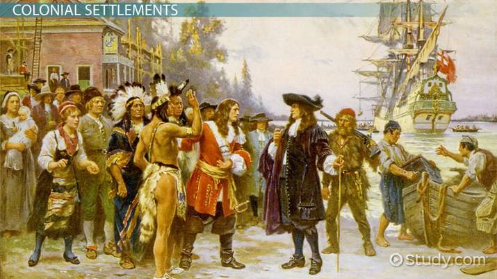 America in the 1600s: History & Timeline - Video & Lesson