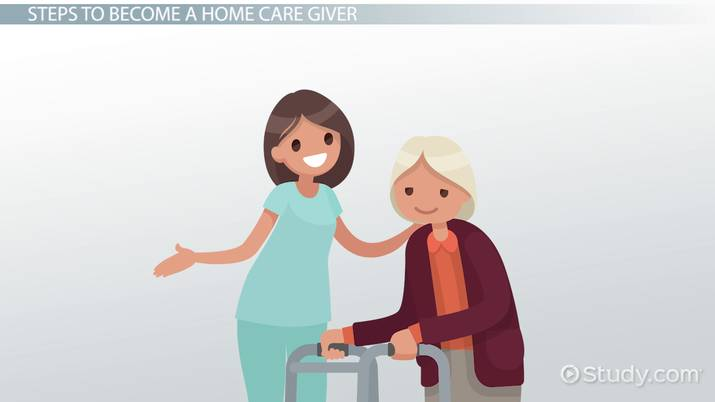 work as a home care giver