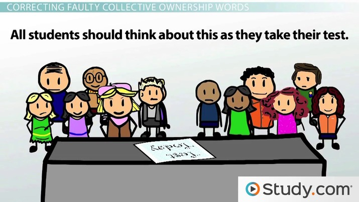 Sentence Agreement Avoiding Faulty Collective Ownership Video