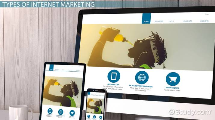 Internet Marketing: Definition & Examples - Video & Lesson