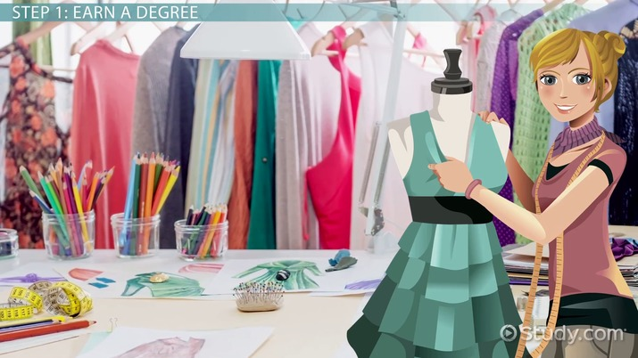 How To Design Clothes For A Living Education And Career Roadmap