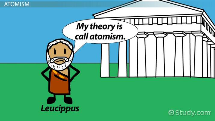 what was democritus contribution to the atomic theory