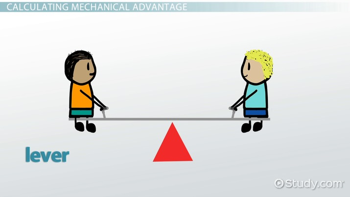 Mechanical Advantage: Definition & Formula - Video & Lesson