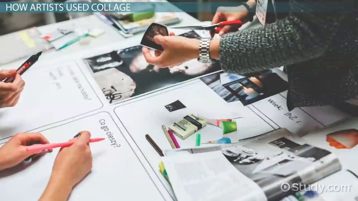 What Is Collage? - Definition, Famous Artists & Examples - Video