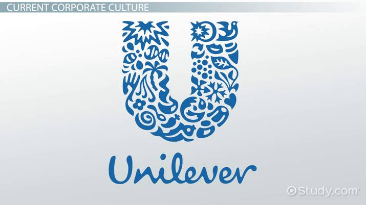 organizational structure of unilever company