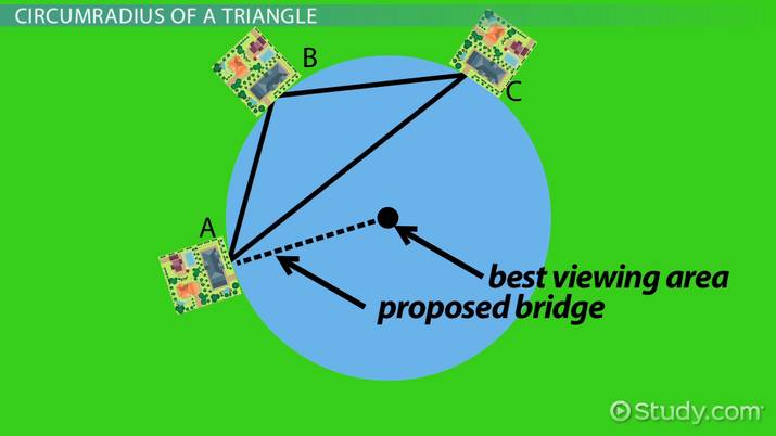 How to Find the Circumradius of a Triangle - Video & Lesson