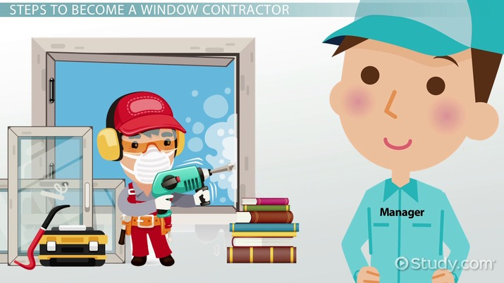 Become a Window Contractor: Career Information and Requirements