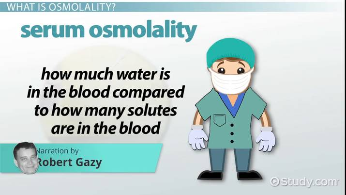 Osmolality: Definition, Calculations & Formula