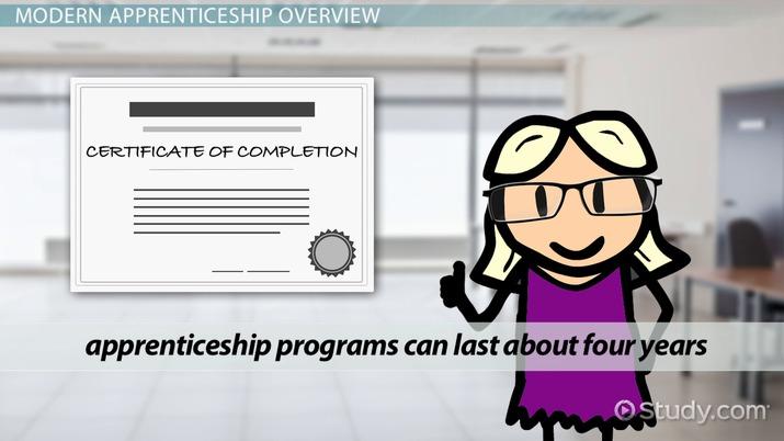 How Do Modern Apprenticeship Programs Work
