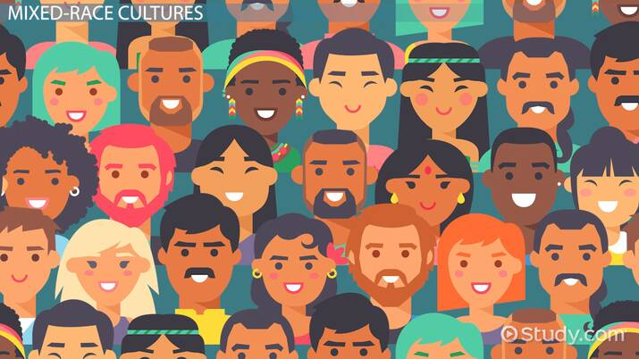 Identifying Mixed-Race Cultures - Video & Lesson Transcript ...