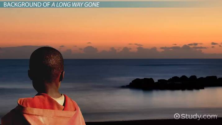 a long way gone quotes about family video lesson transcript