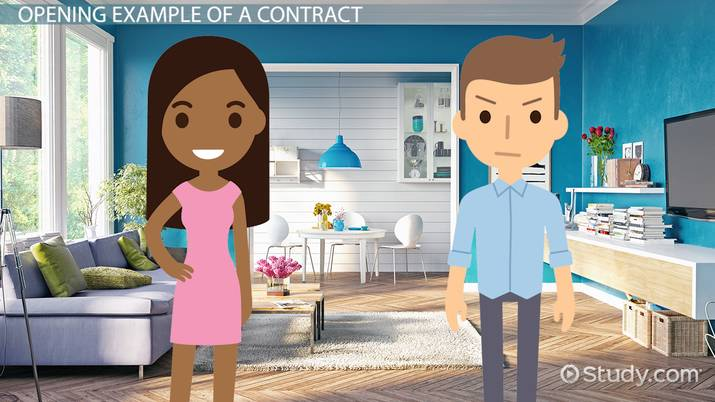 Contract Essential Elements | Five Essential Elements Of An Enforceable Contract Video Lesson