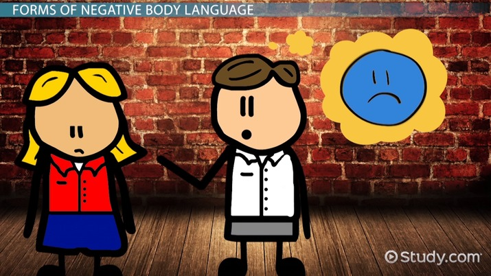 Negative Body Language: Examples & Signs - Video & Lesson