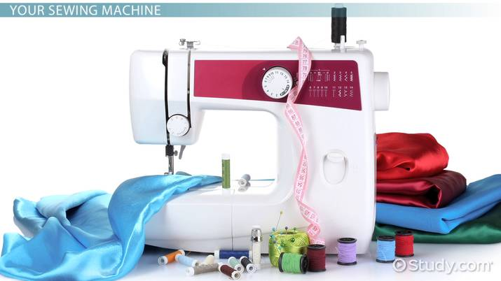 Parts Of A Sewing Machine Video Lesson Transcript Study New Sewing Machine Part Crossword