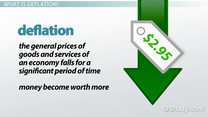 What is Deflation? - Definition, Causes & Effects