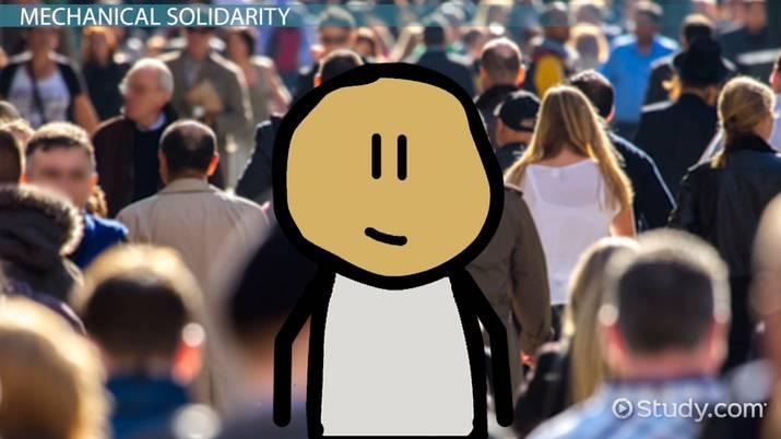 solidarity sociology definition