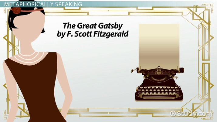 Metaphors In The Great Gatsby Video Lesson Transcript Study