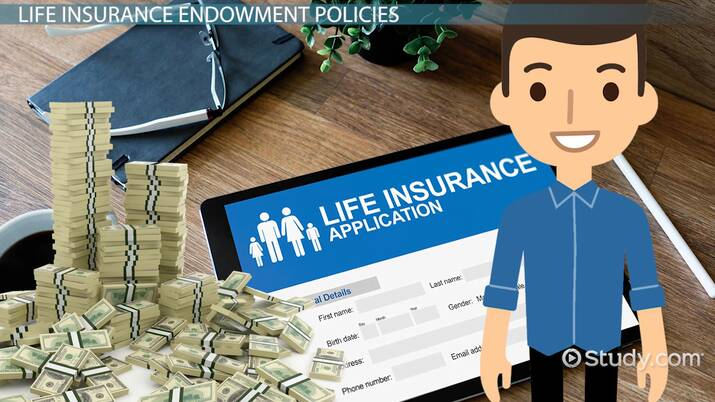 Life Insurance Endowment Policies Definition Types Video