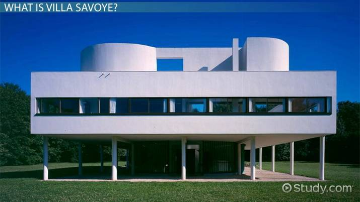 Villa Savoye: Plans, Structure & Analysis - Video & Lesson ...