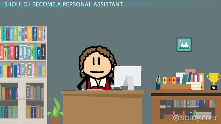 Personal Assistants: Job Description & Career Info