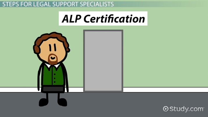 How To Become A Legal Support Specialist