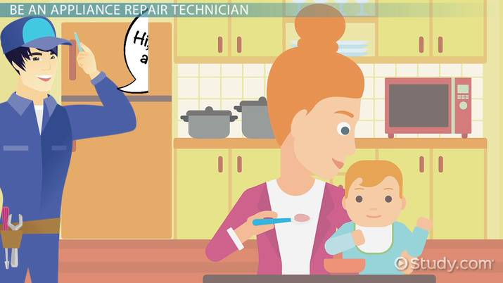 home appliance repair technician education and career