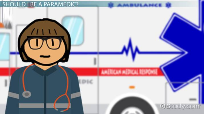 paramedic training: summary of how to become a paramedic