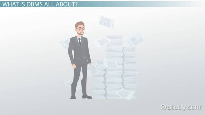 Advantages of Database Management Systems (DBMS) - Video & Lesson