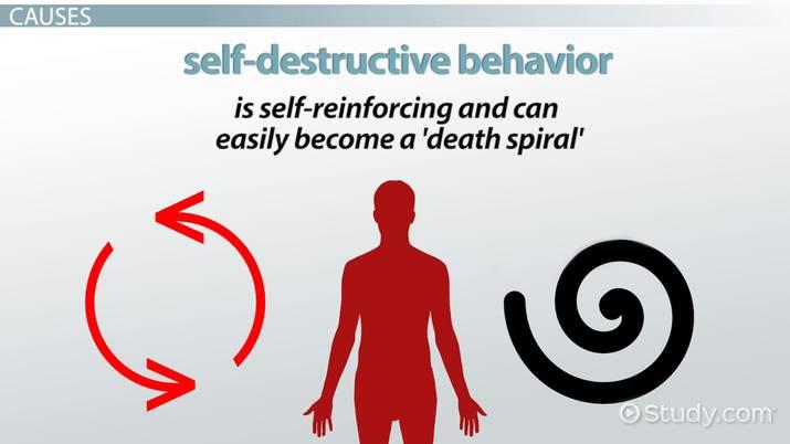 self destructive dating behaviors