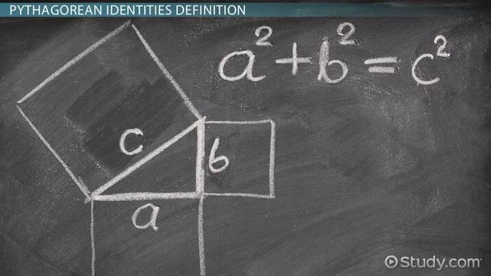 Pythagorean Identities in Trigonometry: Definition