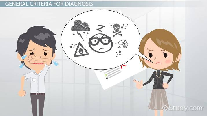 DSM-5 Personality Disorders & Diagnosis - Video & Lesson