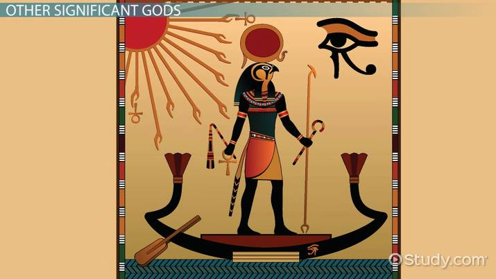 Ancient Egyptian Gods & Goddesses: Names & Family Tree - Video