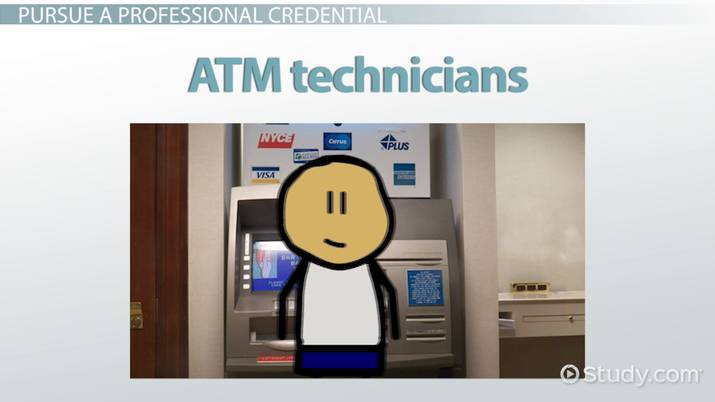 Be an ATM Technician | Career Overview and Training Requirements