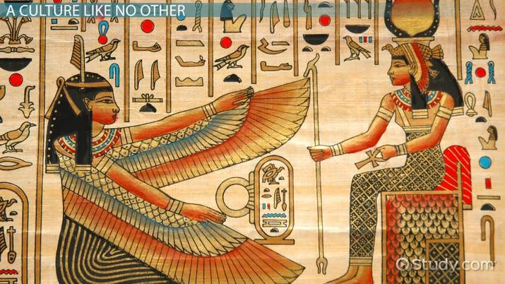 ancient egyptian sculptures paintings innovation examples