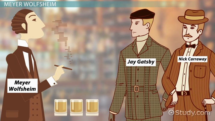 examples of materialism in the great gatsby