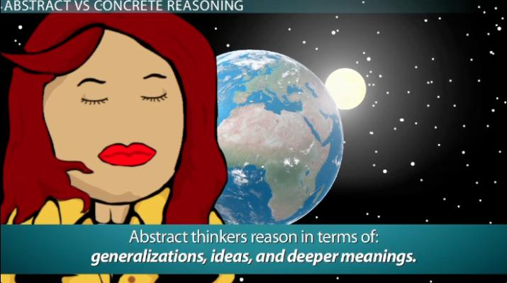 Abstract Reasoning Definition Examples Video Lesson