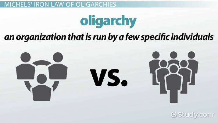 the iron law of oligarchy definition