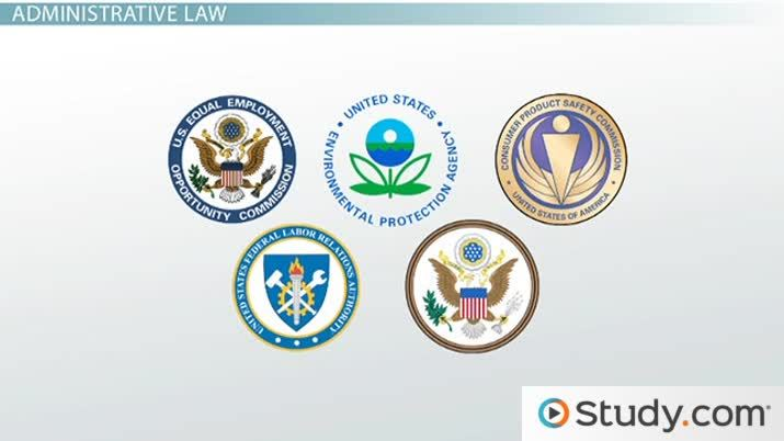 Administrative Regulatory Law Definition Example Cases