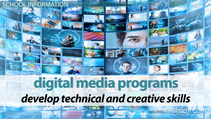 List Of Top Digital Media Schools And Colleges