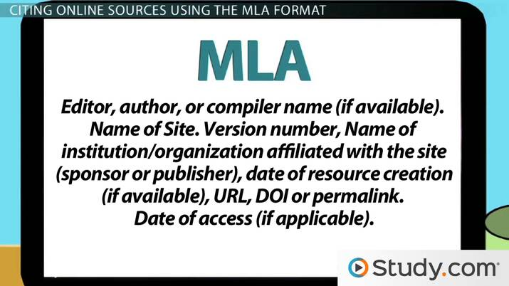 Mla citation book accessed online dating