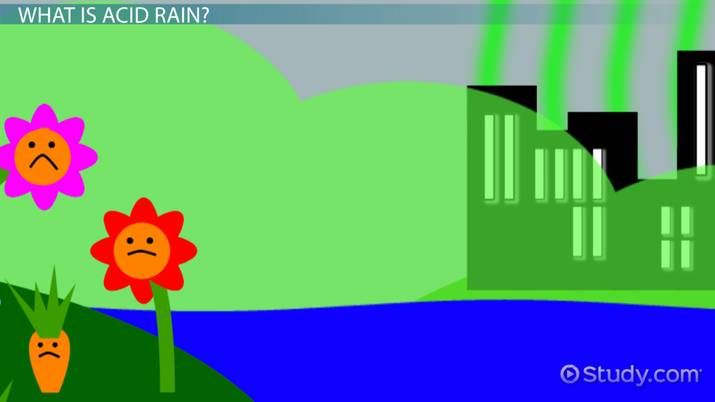 Causes  U0026 Effects Of Acid Rain  Lesson For Kids