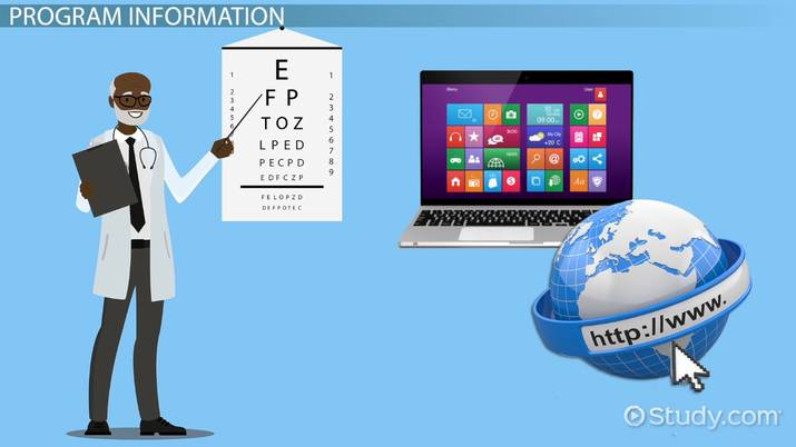 Online Optometry Courses and Classes Overview