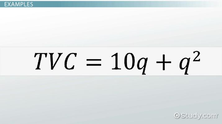 Average Variable Cost (AVC): Definition, Function & Equation