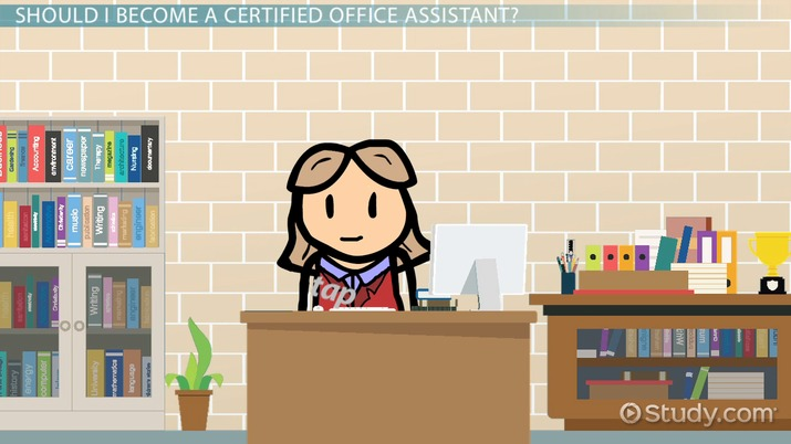 Be A Certified Office Assistant Certification And Career Information